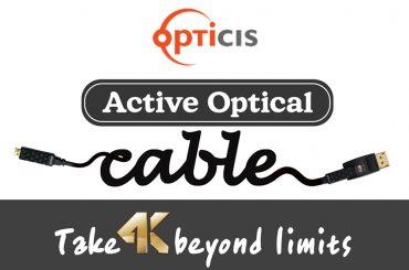 Opticis 200D : cables optiques actifs