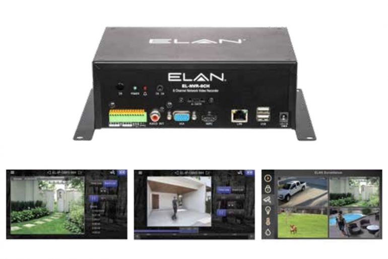 ELAN NVR 8xCH Audio Dante